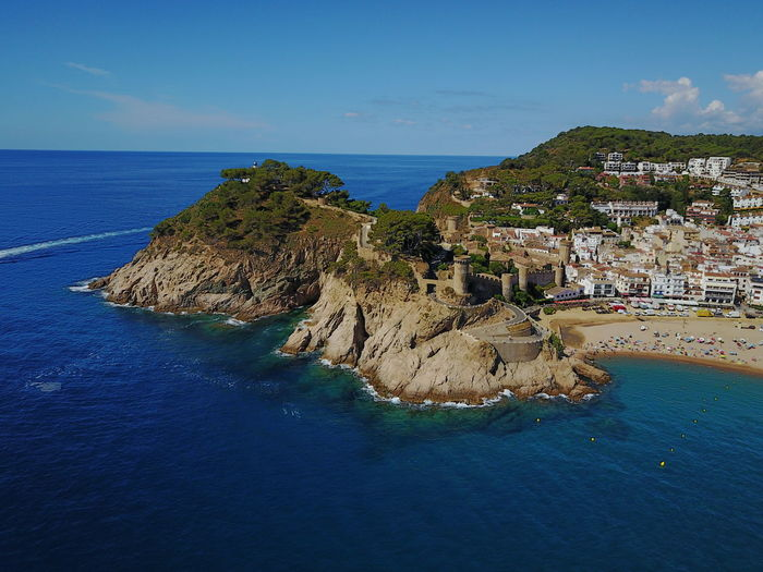 Aerial Shot Catalunya Nature Rock Formation Rocky Coastline Aerial View Architecture Beach Beauty In Nature Blue Blue Sky Building Exterior Built Structure Day Horizon Over Water Nature No People Outdoors Rock - Object Scenics Sea Sky Travel Destinations Water Waterfront Your Ticket To Europe