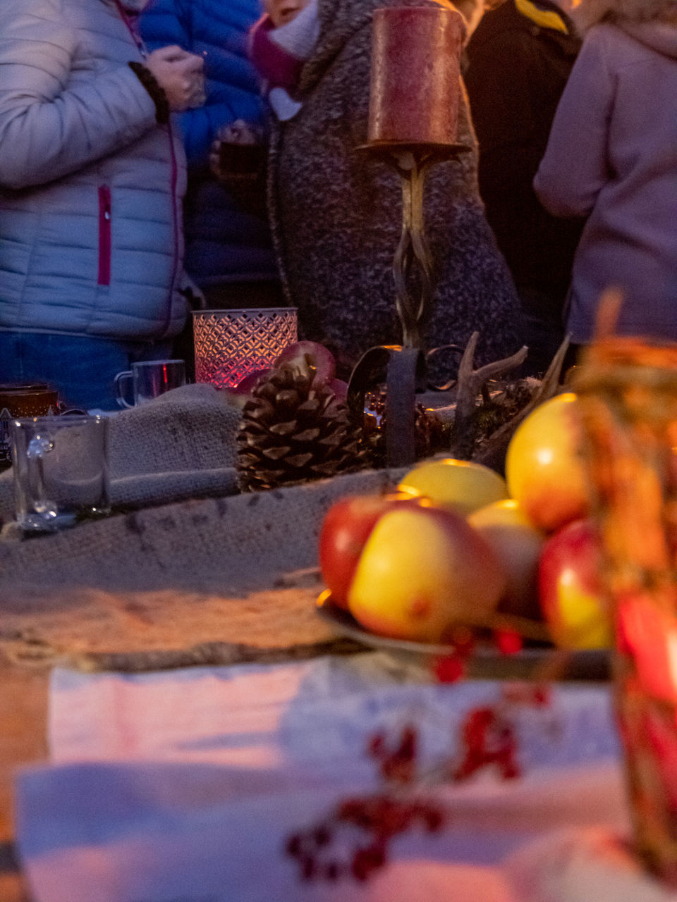 food, food and drink, healthy eating, indoors, real people, selective focus, fruit, retail, wellbeing, market, for sale, freshness, men, business, people, incidental people, container, close-up, small business, market stall, retail display