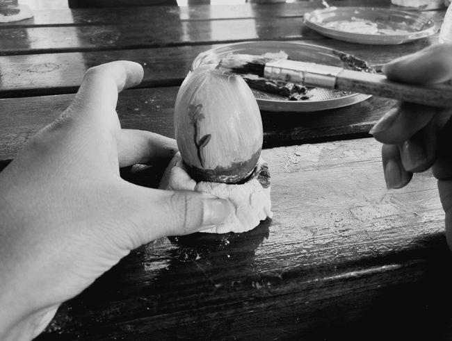 Human Hand Eggs Art Summercamp2017 Playing Egg Blac&white