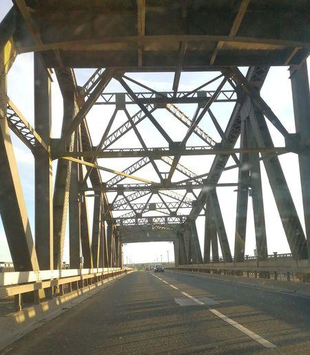 Bridge - Man Made Structure Built Structure Architecture Connection Sunset