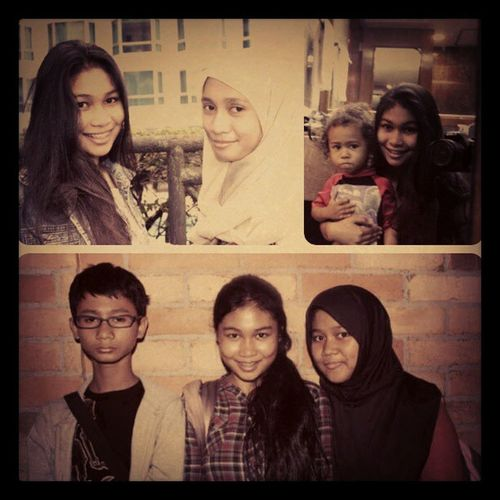 Only them that I have now who still have their ownself dream! Me Kaenji Zaky Anbarrisyad family sibling