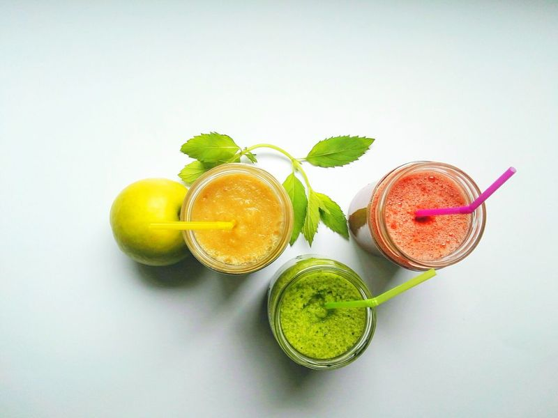 EyeEm Selects Food And Drink Fruit Citrus Fruit Drinking Glass Freshness Healthy Eating Lime Drink Studio Shot Mint Leaf - Culinary Food Close-up Mojito Smoothies Smoothie Time  Smoothie Freshness