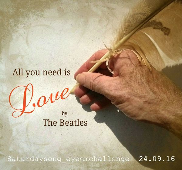 It is with delight that i present to you the Saturdaysong_eyeemchallenge for Saturday the 24th September 2016. The song this week, is 'All you need is Love', by The Beatles from the album 'Yellow Submarine'. Recorded at Olympic and EMI Studios, London in 1967. The message is 'Love is everything'. Think about that as you listen to the song and choose your photos. https://m.youtube.com/watch?v=iKsarmCy2Y0 'All you need is Love' is a 24hr challenge for Saturday 24th September only. Upload your photos from 00:01 - 23:59 CEST. I will be posting reminders over be next three days. Good Luck everyone, looking forward to seeing your interpretations. Have Fun😍💟😍💟😍💟😍💟😍💟😍💟😍💟😍💟😍💟😍💟😍💟😍💟😍💟😍💟Rules are here Saturdaysong_eyeemchallenge_rules Saturdaysong_eyeemchallenge Love Popular Check This Out EyeEm Best Shots Bringing People Together All You Need Is Love Love Without Boundaries Lovephotography  EyeEm Best Edits