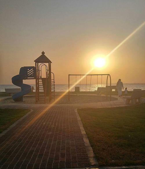 Sunset Outdoors Water Playground