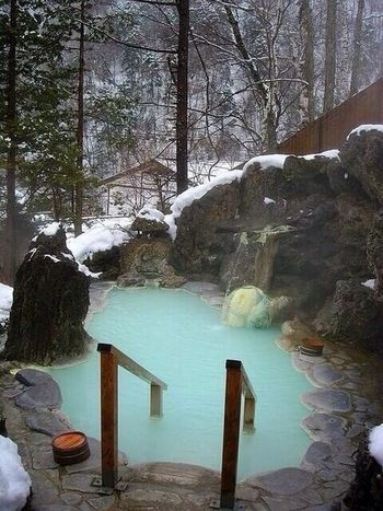 jacuzzi! Jacuzzi  Winter Mountains
