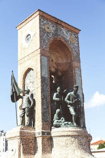 Arch Architecture Building Exterior Built Structure Famous Place History Istanbul Monument Of The Republic Religion Republic Sculpture Statue The Monument Of The Republic ThMonument Of The Republic Turkey