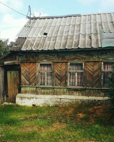 Russia Old House