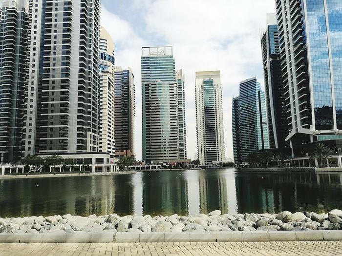 Damac Properties, Dubai UAE, How beautiful it is... Using my Mobile Phone, Huawei P9 Lite, , , Best Camera Ever... City Architecture Urban Skyline Modern Building Exterior Travel Destinations