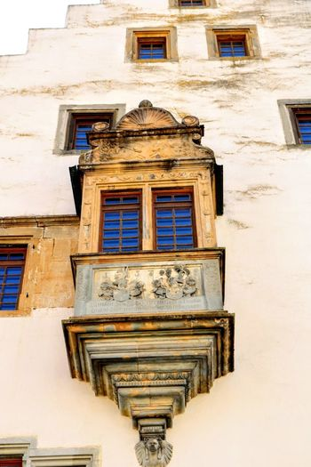 Erker an der schlossmauer GERMANY🇩🇪DEUTSCHERLAND@ Window Façade City Architecture Building Exterior Built Structure Window Box Historic History Historic Building Ancient Civilization Civilization