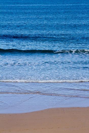 Beach Blue Break Sand Sea, Swell Water Waves
