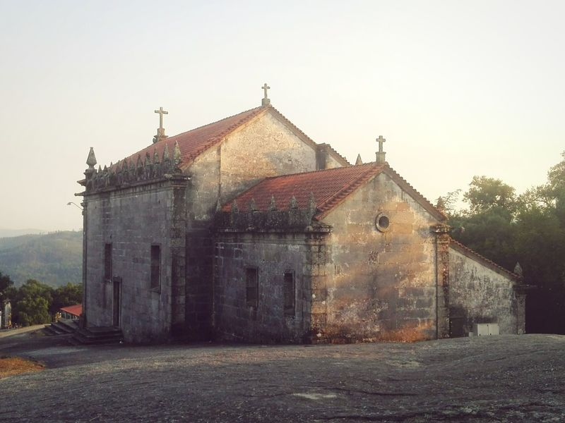 Hanging Out Check This Out Churches Church Architecture Church Design, Portugal Monument Back View Old Church Povoadelanhoso Portugal History Sun Light Reflection Summer Views