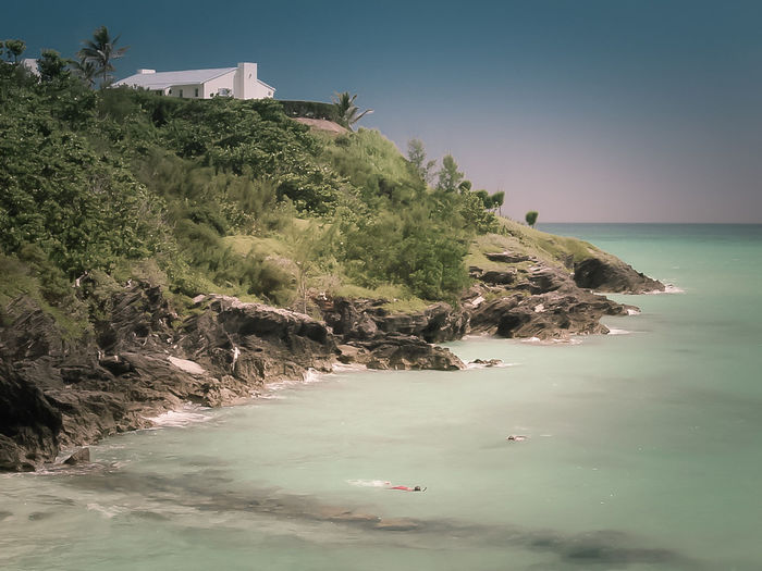 Adventure Architecture Beach Bermuda Blue Day Horizon Over Water Nature Nautical Vessel No People Outdoors Scenics Sea Sky Snorkeling Summer Tree Vacations Water Wave