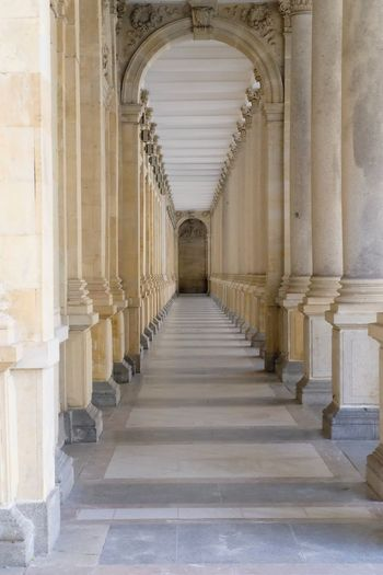 Architecture Built Structure Arch Architectural Column The Way Forward Direction The Past History Arcade Building Corridor Diminishing Perspective No People Indoors  In A Row Day Colonnade Place Of Worship Religion Ceiling Ancient Civilization Aisle