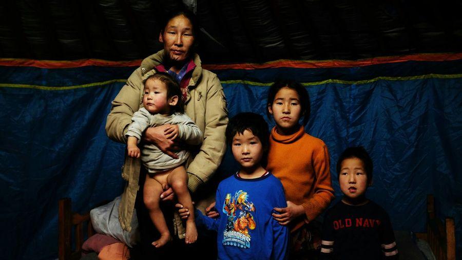 My Best Photo 2015 Mongolia Family Geer Fuji X100s