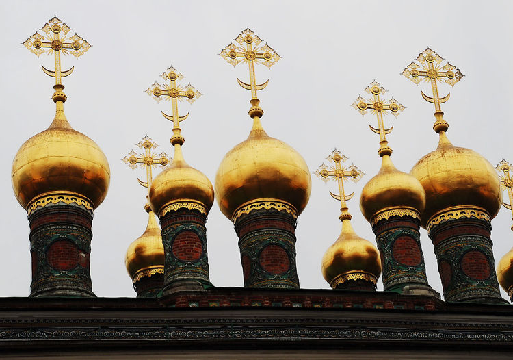 Kremlin Kremlin Architecture Russia Russia Architecture Building Exterior Day Dome Gold Colored Low Angle View No People Religion Spirituality