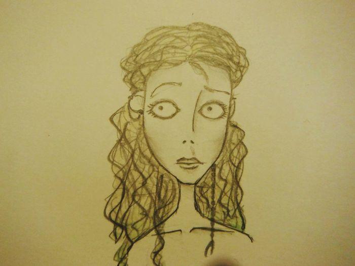 Drawing Myself In Tim Burton Style Tim Burton Change Your Perspective Doodling
