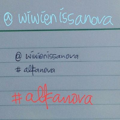 Day17 Junephotochallenges : handwriting Alfanova Wnephotochallenge meandmysisterphotochallenge wneandbundangphotochallenges