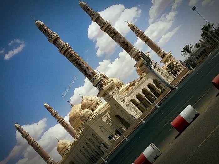 جامع الصالح Yemen Sanaa صنعاء سماء جامع الصالح Sky First Eyeem Photo