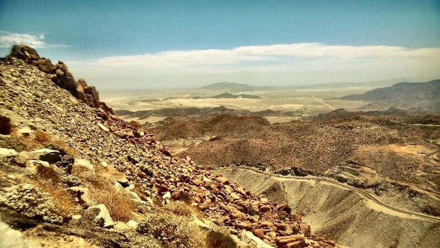 "Desierto desde ""La Rumorosa"" Scenics - Nature Mountain Beauty In Nature Environment Tranquility Tranquil Scene Sky"