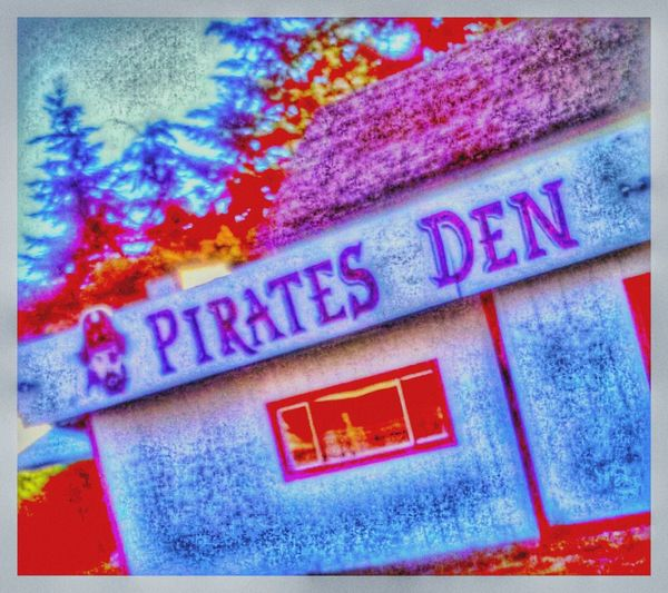 Clubhouse Pirates Club Mates, Buddies, Chums, Pals And Friends A Place To Kick It. Home Is Where The Art Is Arrrg! Land Ho! Booty Captain Hook Captain Morgan Black Beard Captain Kid Captain Crunch  Colour Of Life Festive Season