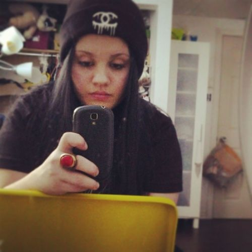 Don't say i'm better off dead 'cause heaven's full and hell won't have me Selfie Beanie Selfiewithbeanie Girl bmth bedroom wewearblackonthuesday instadaily selfietime selfination face igers tags
