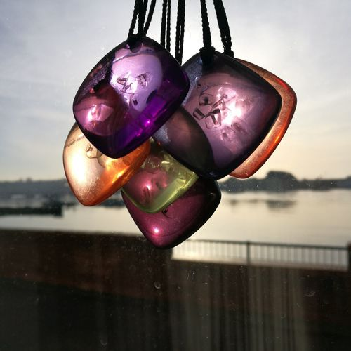 Hanging Focus On Foreground Water No People Crystals Crystal Pendants Chakras