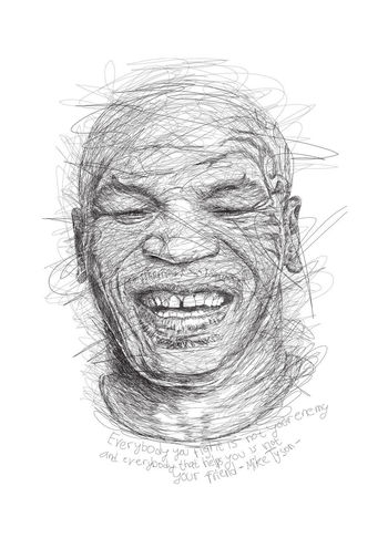 Mike Tyson Digtal Drawing Digital Art Digital Painting Scribble Scribbles Scribbled ScribbleDrawing Scribblermia Scribbles And Sketchy Drawing Digitalart  DigtalArt Digital Digitalart  Digital Composite INDONESIA Celebs Boxing Sports