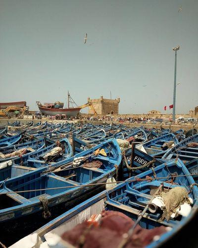 Essaouira Bay Essaouira Fishing Boats Fishing Boats Moroccan Fishing Boats Morocco The Marina The Marina Morocco Beauty Of Morocco