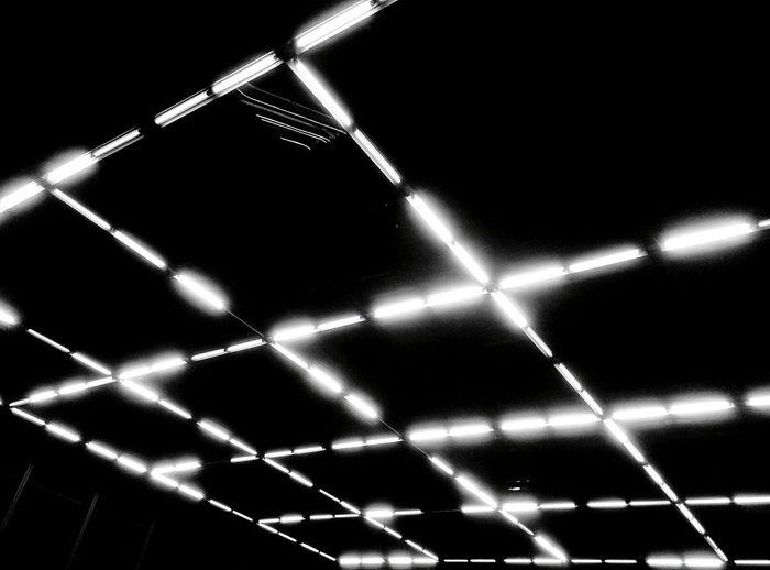 Day 314 - Light grid Berlin Blackandwhite Minimalism Lines Light Neon 365project 365florianmski Day314