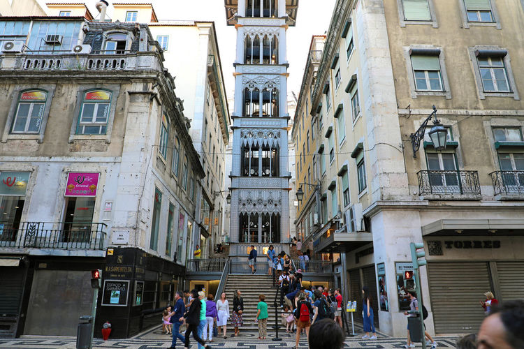 Lisbon, Portugal Architecture Building Exterior Built Structure Building Day City Outdoors Portugal Portugal Is Beautiful Lisbon Lisbon Tower Lisbon Cityscape Palace Santa Justa Elevator Santa Justa Santa Justa Lift Santa Justa Lisbon Portugal Tower Tourists Viewpoint Lisbon View Lisbon Center Portugal_lovers Portugal Oficial Fotos Colection EyeEm© Portugal ☆