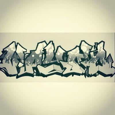 Piece I made for @livinthatgoodlife in 2010. Hadn't seen it since then. You should follow him too Graffiti Graffitiigers Streetart Tagging Media Krylonforce Blackandwhite Art Maine 207 Portlandme BombingScience