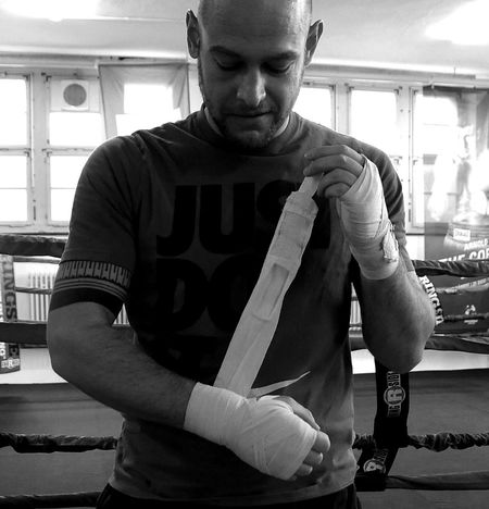 on my series Boxing - Sport Close-up