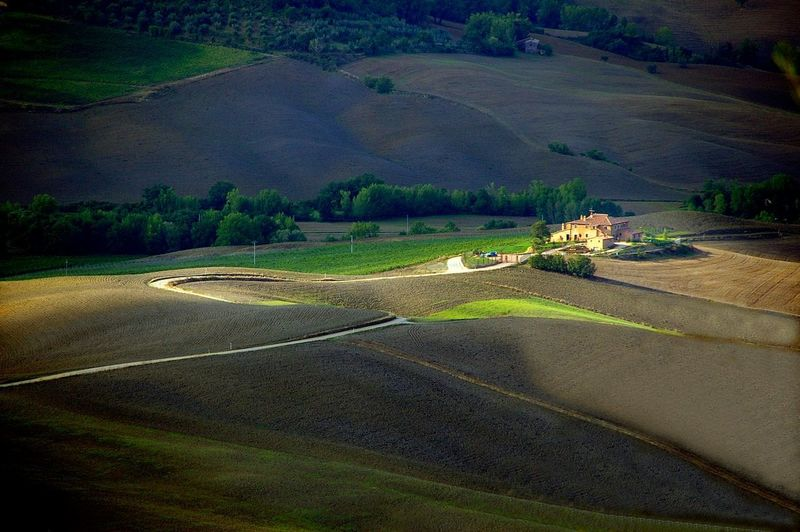 Toscana, Tuscany Agriculture Rural Scene Shadow Landscape Nature No People Outdoors Beauty In Nature Travel Tuscany Toscane, Italy EyeEmNewHere