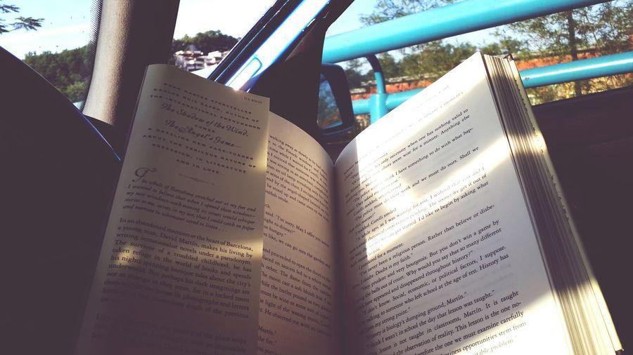 Carlos Ruiz Zafón Reading & Relaxing Books