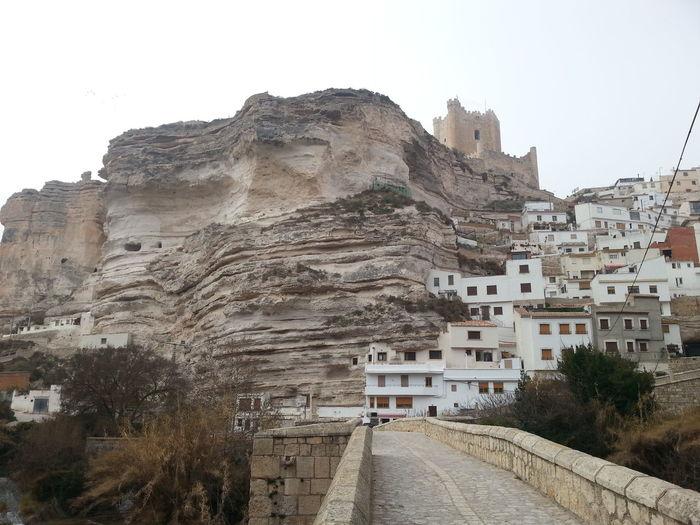 Castel of Alcala de Jucar, Albacete, Spain