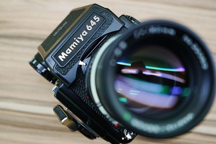 Lieblingsteil Old-fashioned Antique Super Retro Vintage Classic Mamiya 645 120 Film Camera Camera Close-up