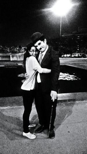 Mr. and Mrs. Chaplin❤ I Married Him Performed Picture Thats Me  Happy Smile Black And White Charlie Chaplin Loved
