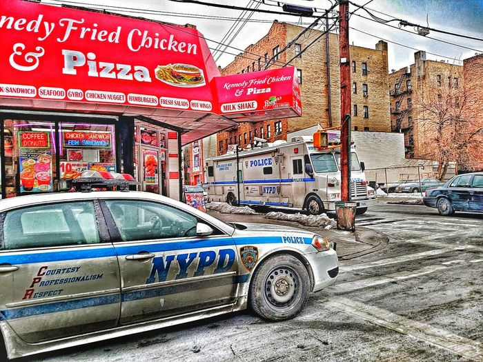 Bronx New York City NYC Police Car The Human Condition Street Photography EyeEm Best Shots Cool HDR
