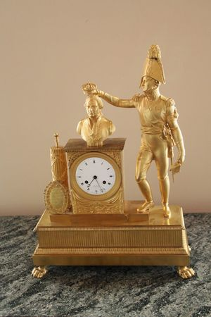Napoleon Napoleon Bonaparte Old-fashioned History Gold Colored Statue No People Gold Indoors  Clock Face Clock St. Petersburg, Russia Russia St. Petersburg St.petersburg