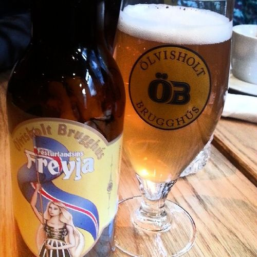 Freyja  пивокотороеяпью исландское нефильтрованное
