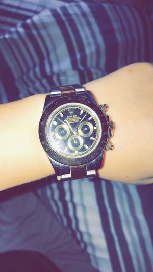 Time Human Hand Human Body Part One Person Real People Wristwatch Watch Close-up Men Bracelet Lifestyles Outdoors Day Clock Minute Hand Clock Face Adult People Rolex Watches Watch Rolex Watch Like Follow