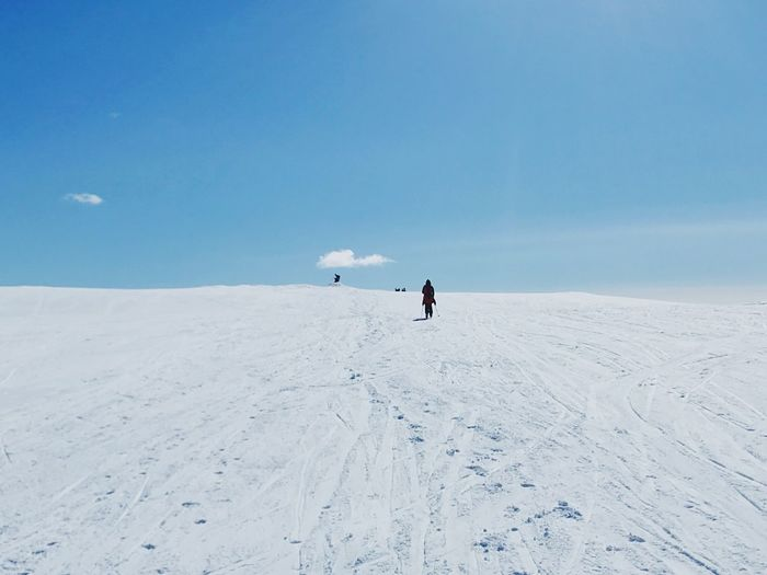 Into the White Snow Winter Nature Scenics Skiing Tranquil Scene Landscape Outdoors Ski Holiday First Eyeem Photo