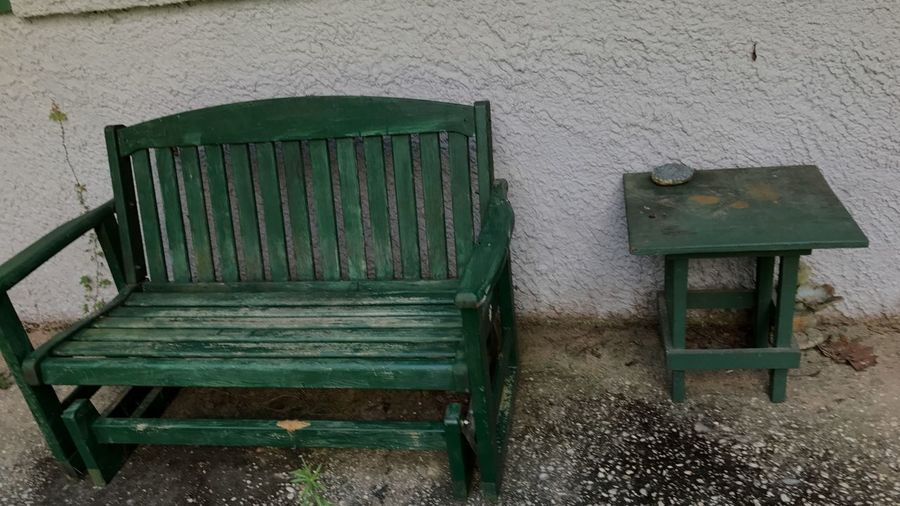 No People Abandoned Chair Day Architecture Built Structure Outdoors Close-up Vacancy? Oldhouses Lonely Needs Cleaning