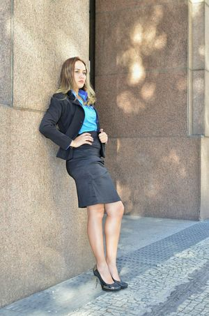 Girl Power Woman At Work Woman Who Inspire You Woman In Business Office Executive Style