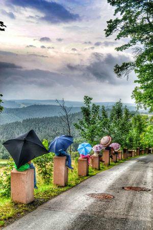 Umbrella Kids Rain Likeforlike Taksforlikes Regenschirme Photo