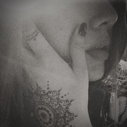 That's Me Hi! Enjoying Life EyeEm Blackandwhite Black & White Tattoo Art Beautiful 自己画的还不错~