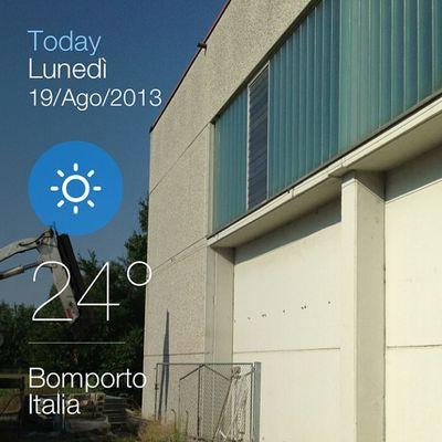#weather #instaweather #instaweatherpro #sky #outdoors #nature #world #bomporto #italia #day #summer #clear #morning #it Summer Nature Weather Morning Sky Day Outdoors Italia World Clear IT Instaweather Instaweatherpro Bomporto