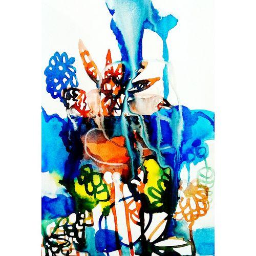 Drawing Multi Colored Fineart Creativity Artist Design ArtWork Artstudio Paper Art EyeEmArtists Drawing Sketchbook Watercolor Illustration EyeEmArt Draw Art, Drawing, Creativity A5
