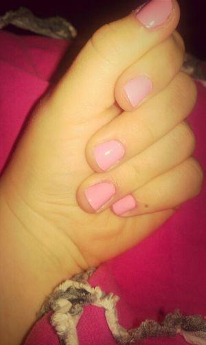 Pink Nails, Love !