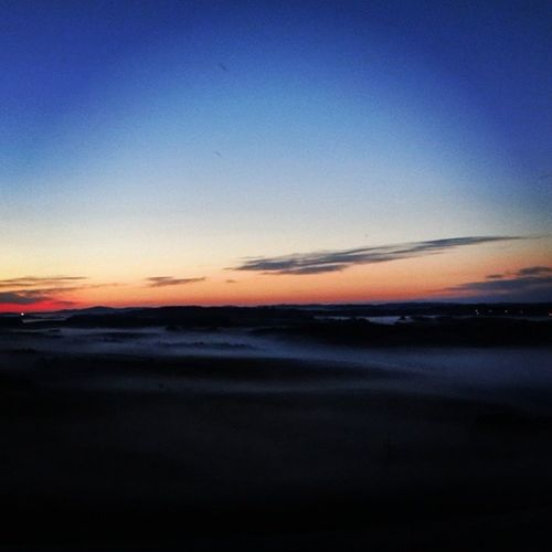 A misty Sunrise on top of Sask is all it took to believe in God. Travel Vacation nature sky sun clouds cloudporn skylovers skypainters mothernature ladd00 wilderness canada explorecanada travelcanada prairielife prairies prairieskies landoflivingskies Saskatchewan exploresask